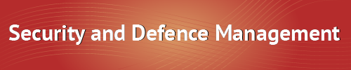 Security and Defence Management
